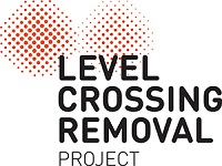Level Crossings Removal Project (LXRP) logo
