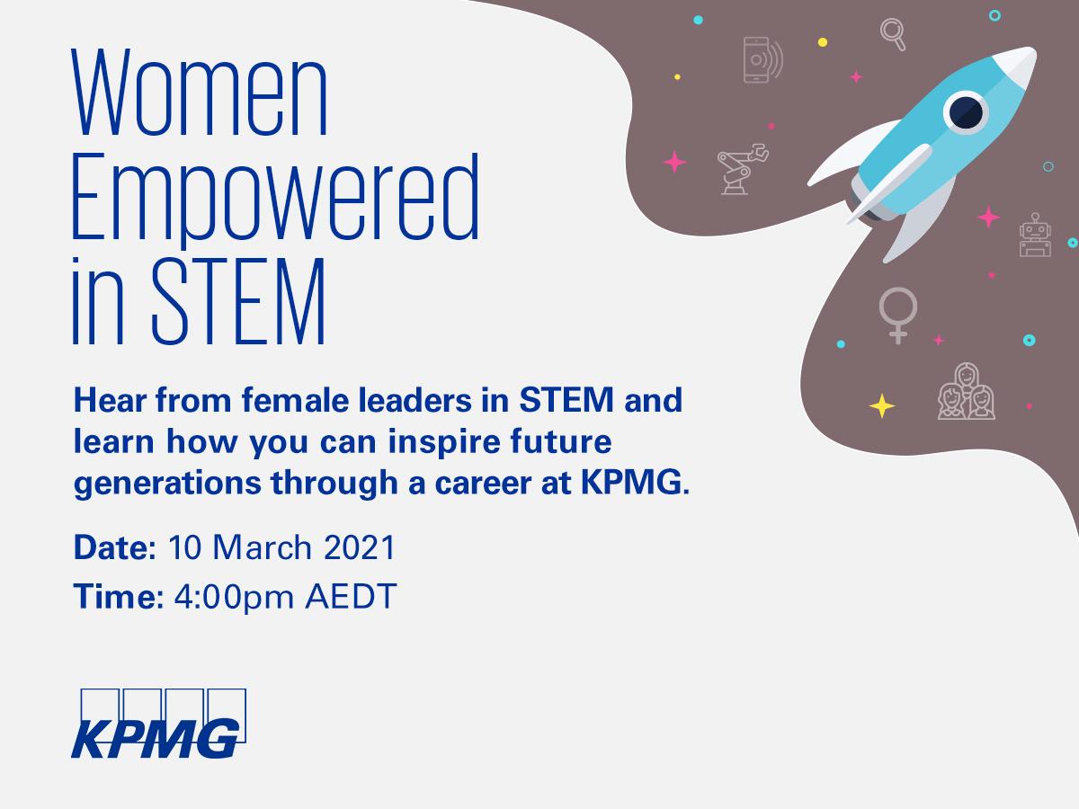 KPMG's Women Empowered in STEM