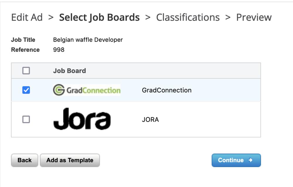 job board edit