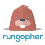 rungopher logo