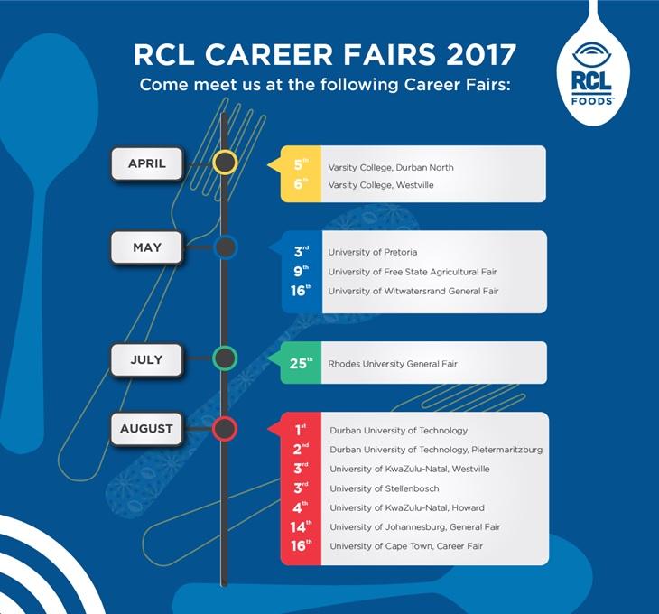 RCL Career Fairs 2017