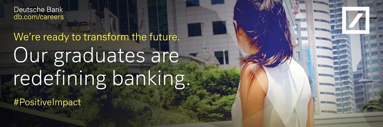 Deutsche Bank profile banner profile banner