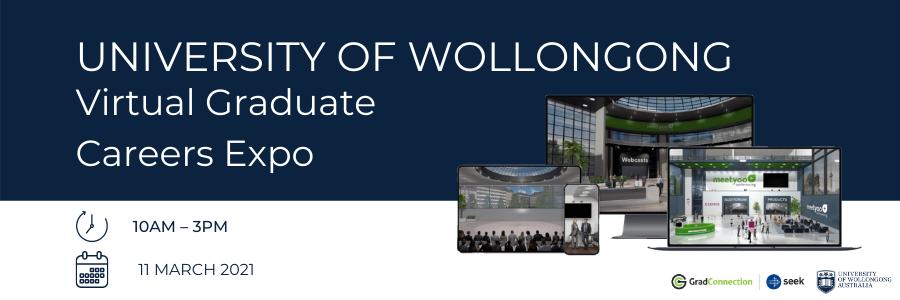 University of Wollongong profile banner